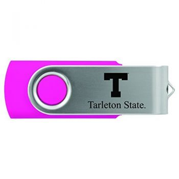 Tarleton State University -8GB 2.0 USB Flash Drive-Pink