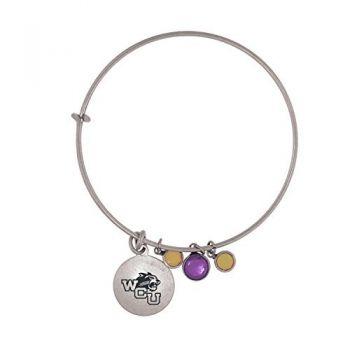 Western Carolina University-Frankie Tyler Charmed Bracelet