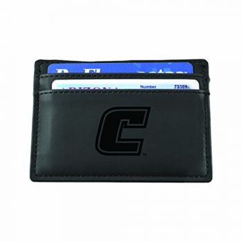 University of Tennessee at Chattanooga-European Money Clip Wallet-Black