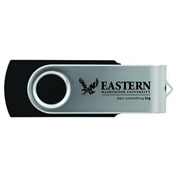 Eastern Washington University -8GB 2.0 USB Flash Drive-Black