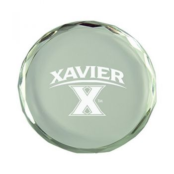 University of Wyoming -Crystal Paper Weight