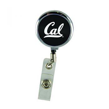 University of California Berkeley-Retractable Badge Reel-Black