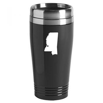 16 oz Stainless Steel Insulated Tumbler - I Heart Mississippi - I Heart Mississippi