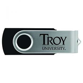 Troy University-8GB 2.0 USB Flash Drive-Black