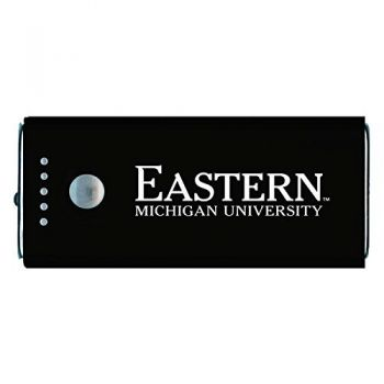 Eastern Michigan University Eagles-Portable Cell Phone 5200 mAh Power Bank Charger -Black