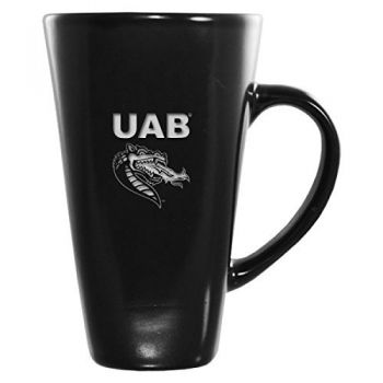 University of Alabama at Birmingham -16 oz. Tall Ceramic Coffee Mug-Black