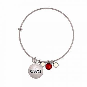 Central Washington University-Frankie Tyler Charmed Bracelet