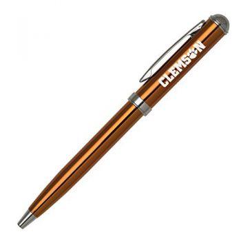 Clemson University - Click-Action Gel pen - Orange