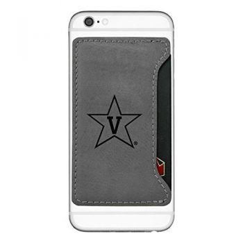 Vanderbilt University-Cell Phone Card Holder-Grey