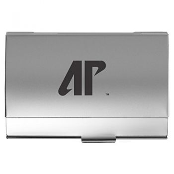 Austin Peay State University - Two-Tone Business Card Holder - Silver
