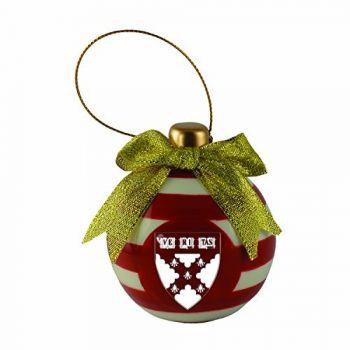 Harvard University -Christmas Bulb Ornament