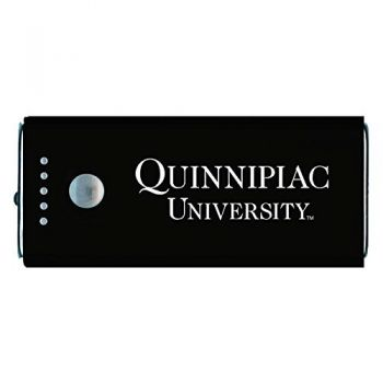 Quinnipiac University -Portable Cell Phone 5200 mAh Power Bank Charger -Black