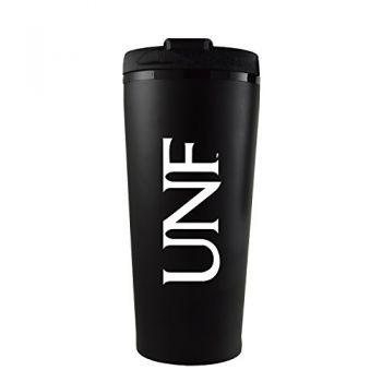 University of North Florida-16 oz. Travel Mug Tumbler-Black
