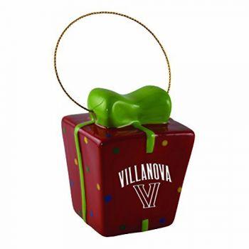 Villanova University-3D Ceramic Gift Box Ornament