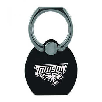 Towson University|Multi-Functional Phone Stand Tech Ring|Black