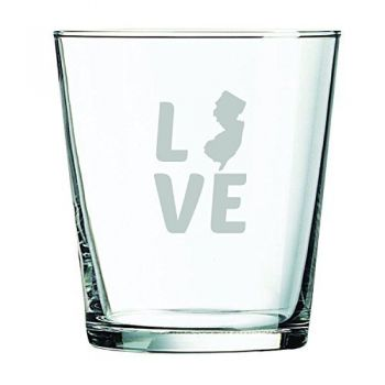 13 oz Cocktail Glass - New Jersey Love - New Jersey Love