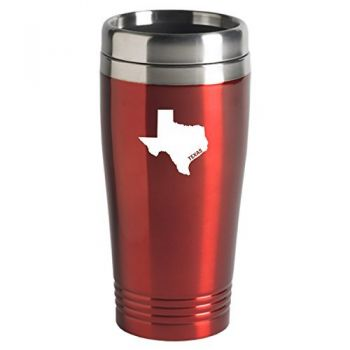 16 oz Stainless Steel Insulated Tumbler - Texas State Outline - Texas State Outline