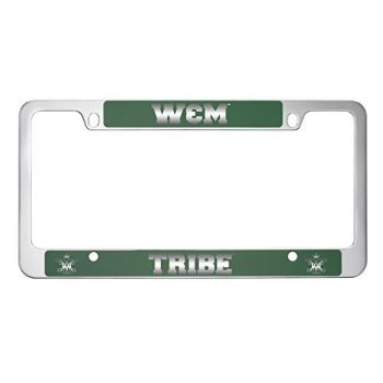 College of William & Mary-Metal License Plate Frame-Green