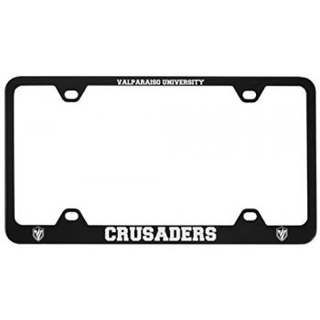 Valparaiso University-Metal License Plate Frame-Black