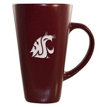 Washington State University -16 oz. Tall Ceramic Coffee Mug-Burgundy