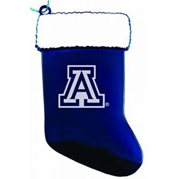 Arizona Wildcats - Christmas Holiday Stocking Ornament - Blue