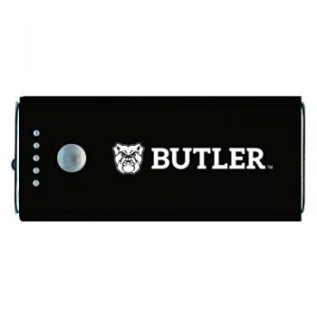 Butler University -Portable Cell Phone 5200 mAh Power Bank Charger -Black