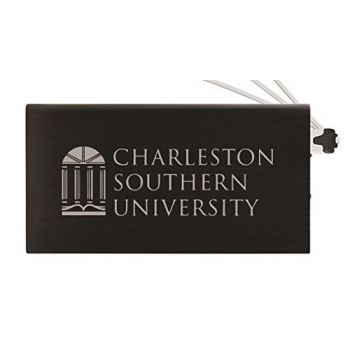 8000 mAh Portable Cell Phone Charger-Charleston Southern University -Black