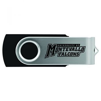 University of Montevallo-8GB 2.0 USB Flash Drive-Black