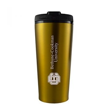 Bethune-Cookman University-16 oz. Travel Mug Tumbler-Gold