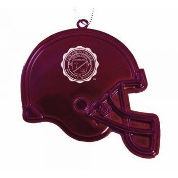 Concordia College - Chirstmas Holiday Football Helmet Ornament - Burgundy