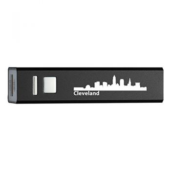 Quick Charge Portable Power Bank 2600 mAh - Cleveland City Skyline