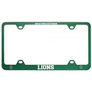 Southeastern Louisiana University -Metal License Plate Frame-Green