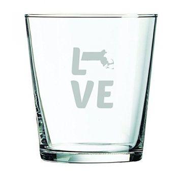 13 oz Cocktail Glass - Massachusetts Love - Massachusetts Love