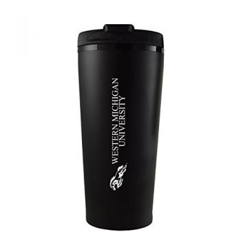 Western Michigan University-16 oz. Travel Mug Tumbler-Black