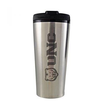 University of Northern Colorado -16 oz. Travel Mug Tumbler-Silver