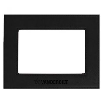 Vanderbilt University-Velour Picture Frame 4x6-Black