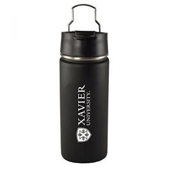Xavier University-20 oz. Travel Tumbler-Black