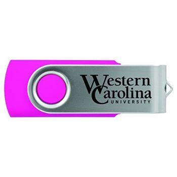 Western Carolina University -8GB 2.0 USB Flash Drive-Pink