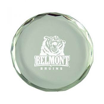 Belmont University-Crystal Paper Weight