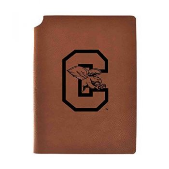 Canisus College Velour Journal with Pen Holder|Carbon Etched|Officially Licensed Collegiate Journal|