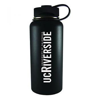 University of California, Riverside-32 oz. Travel Tumbler-Black