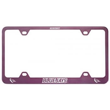 Creighton University -Metal License Plate Frame-Pink