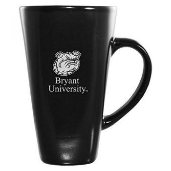 Bryant University -16 oz. Tall Ceramic Coffee Mug-Black