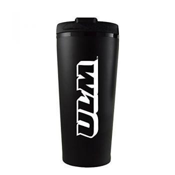 University of Louisiana at Monroe-16 oz. Travel Mug Tumbler-Black