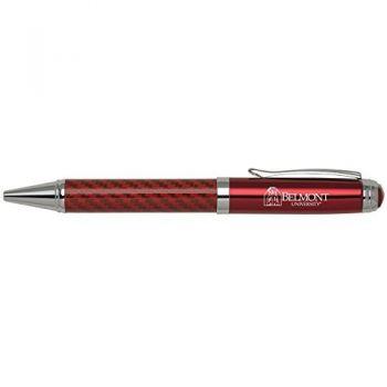 Belmont University-Carbon Fiber Ballpoint Pen-Red