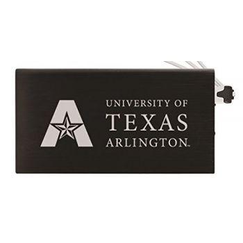 8000 mAh Portable Cell Phone Charger-University of Texas at Arlington -Black