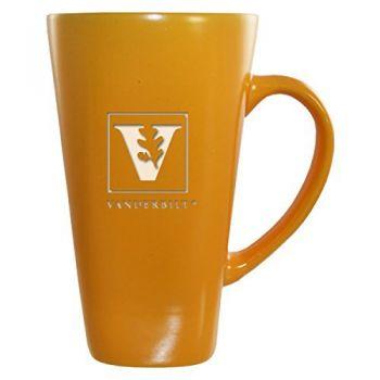 Vanderbilt University -16 oz. Tall Ceramic Coffee Mug-Gold