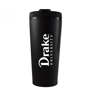 Drake University-16 oz. Travel Mug Tumbler-Black
