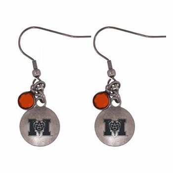 Mercer University-Frankie Tyler Charmed Earrings