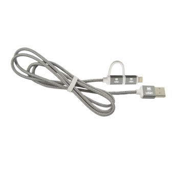 University of Northern Colorado -MFI Approved 2 in 1 Charging Cable